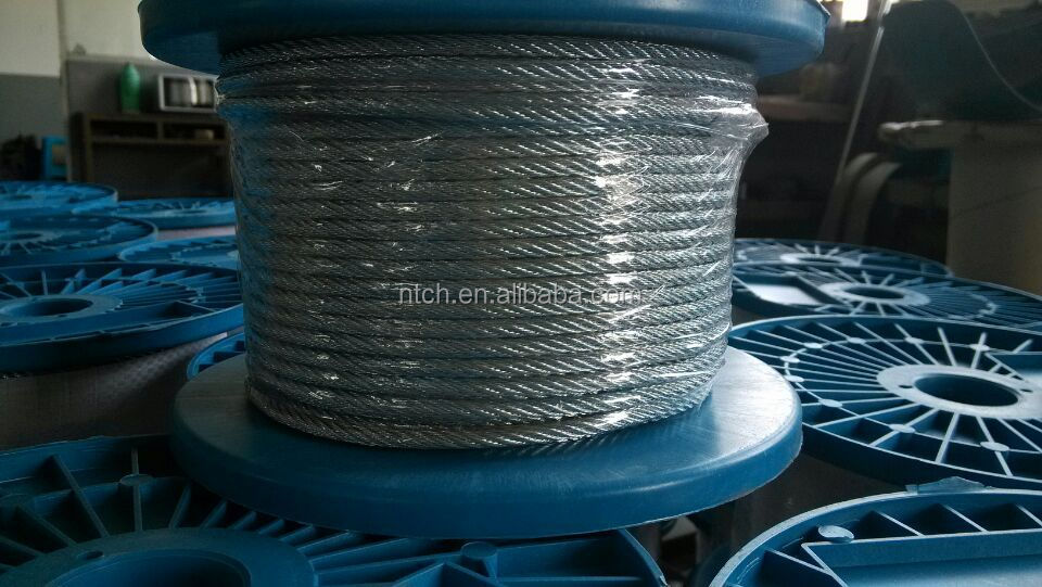 Steel Wire Rope Price Din3060 6x19+fc Steel Cable,Standard ...