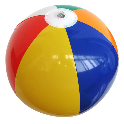 Inflatable big plastice beach ball with good quality