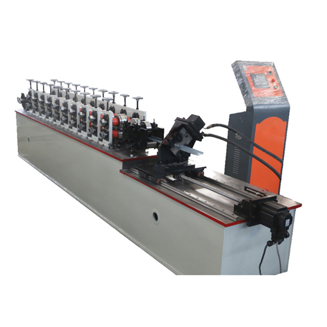 Indonesia Metal Stud 75 Light Keel Roll Forming Machine for Drywall,Cold Bending Manufacturing Machine Supplier