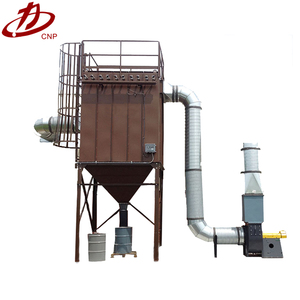 China hot sale CQC &CE approved DMC single pulse bag filter/industrial cyclone dust collector