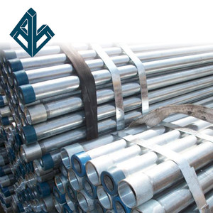 6 inch standard galvanized steel pipe sizes metric