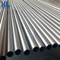 Free samples grade 1 pure titanium pipe for exhaust tube