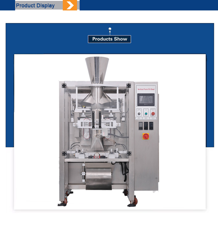 New Combined Design Automatic Medium Big Snack,Chips,Rice Bag Packing Machine