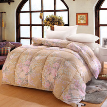 Digital printing fabric goose down duvet comforter