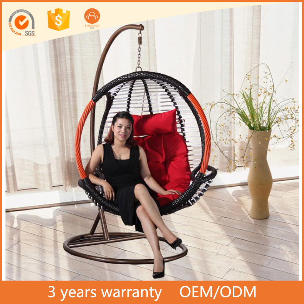 best products for import rattan wicker swing hanging pod chair