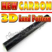 Black Land Pattern Brand New Carbon Stile auto vinyl graphics best for car decoration Size: 1.52 Meter x 30
