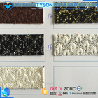 Abrasion-Resistant Pu Glitter Leather Fabric
