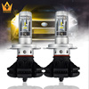 Guangdian new design led car light zes chips X3-h4 headlight 6000LM 50w h13 9004 9007 auto led headlight