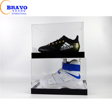 China Factory Clear custom made acrylic nike shoe box