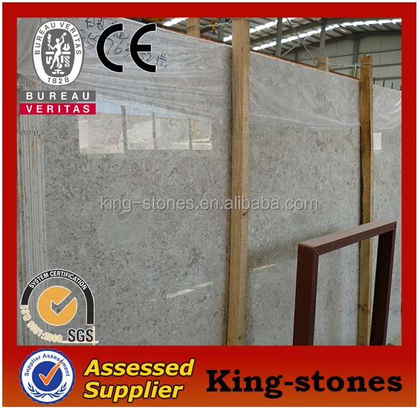 Turkish Natural stone Rose White Marble slab