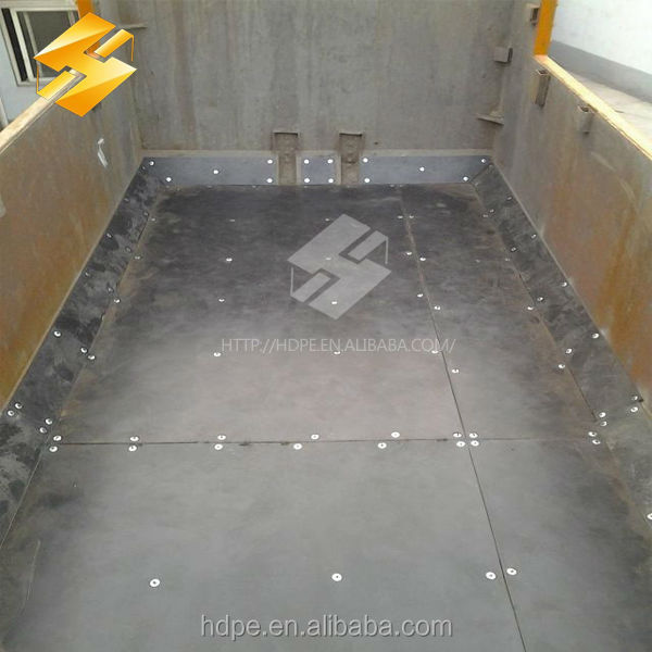 Extruded Sheet For Truck Bed Liners Self-lubricating Plastic Board/ Dump Truck Liner Sheet