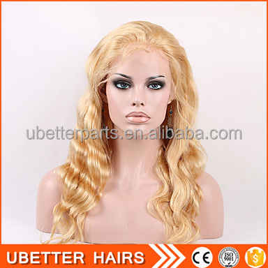 20 inch American long honey blonde best hair world beautiful front affordable lace front wigs