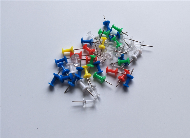 wholesale  clear colorful map push pins