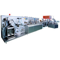 Automatic laminated toothpaste plastic soft tube making machine