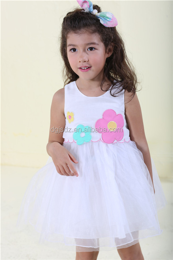 Child White Angel Dress Children Wedding Color 7 Year Old Girl 19