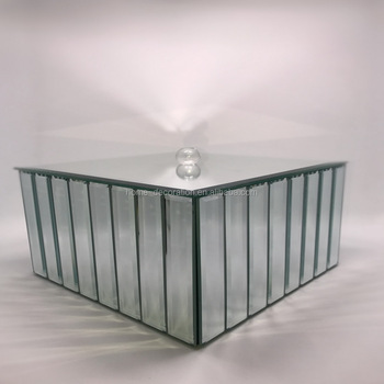 Mirror Cube Vase With Lids For Wedding Buy Mirror Cube Vase With