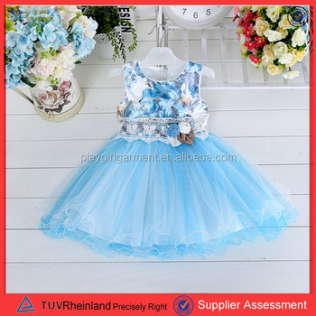 Pgcc0736 2015 Latest New Formal Baby Girl Party Dress Children ...