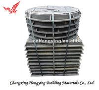 Cast iron manholes cover & frame
