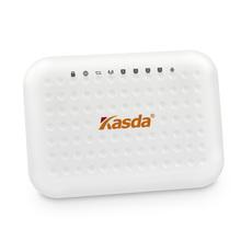 KASDA 300Mbps ADSL2 Modem Wireless WIFI Router Smallest 4-Port Router MIMO 2T2R 5dBi Antennas KW58293AEU Free Shipping
