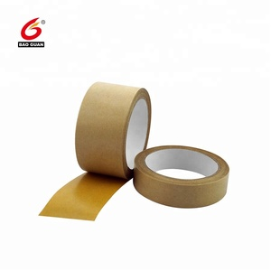 white brown color Self adhesive kraft paper Tape Jumbo rolls
