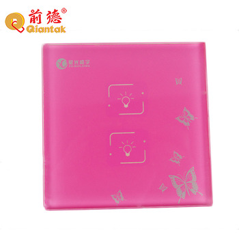 Factory price tempered glass silk print insulated electronic scale glass panel
