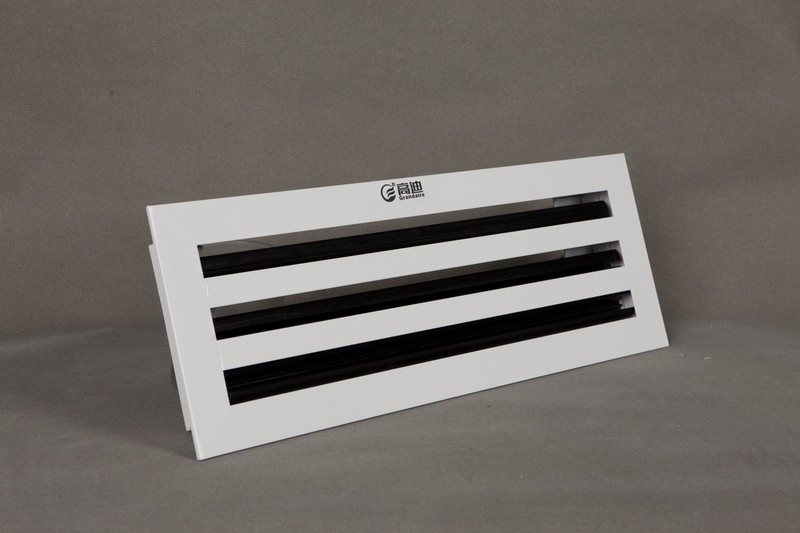 Linear Diffusers Hvac : Hot aluminium linear slot ceiling diffuser with black