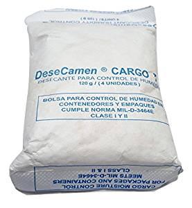 120 Gram SilicaGel Desiccant Packs (10 Packs)