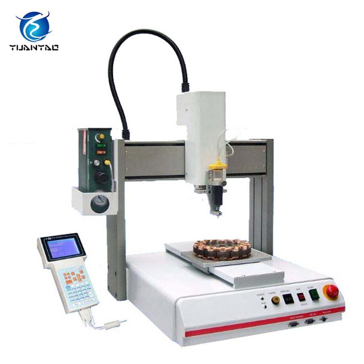 Automated Wood Glue Dispenser ~ Automatic glue dispenser of epoxy machine for