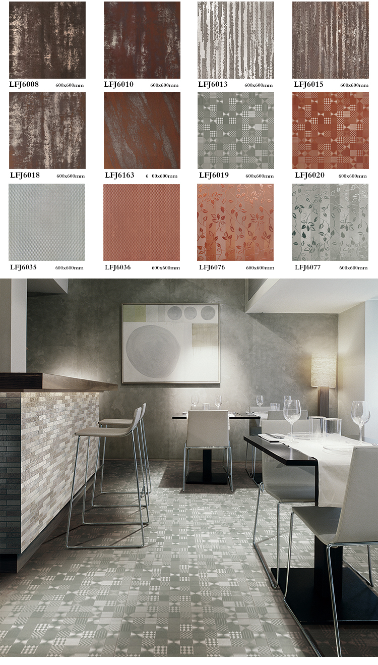 save 30% made in china 24x24 porcelain metal glaze tile for hotel