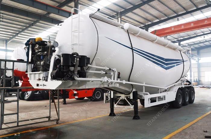 Titan 40000 Liters Sunflower / Liquid Oil Tanker Trailer For Sales ...