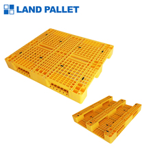 HDPE anti-slip heavy duty giallo pallet in plastica