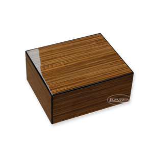 High lacquer zebrano wood Cigar Humidor boxes made in China
