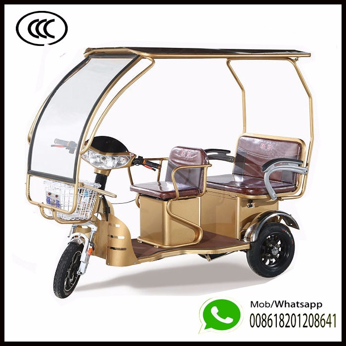 Bajaj Electric Auto Rickshaw Eco Friendly Bajaj Mototaxis 60v 1200w