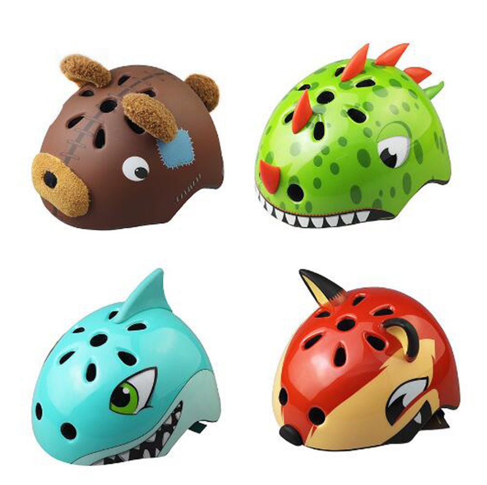 Kids Helmet Cycling Cartoon Design Bike Safety Helmet for Children