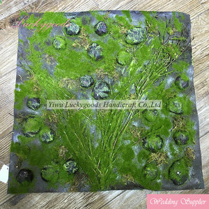 high quality wall carpet decoration artificial green climbing moss wall