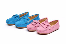 Rismart Toddler Girls Soft Suede Prerwalker Flat Loafers Shoes