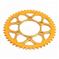 Motorcycle spare parts rear aluminum sprockets suit for Yamaha