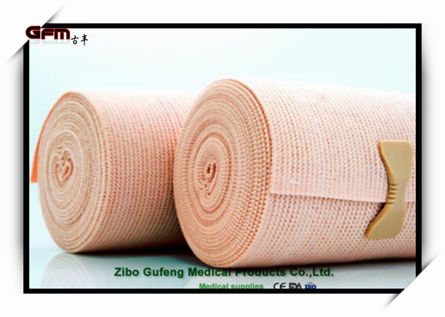 Hot Sale High Quality factory medical elastic plain bandage dressing with CE ISO China Factory