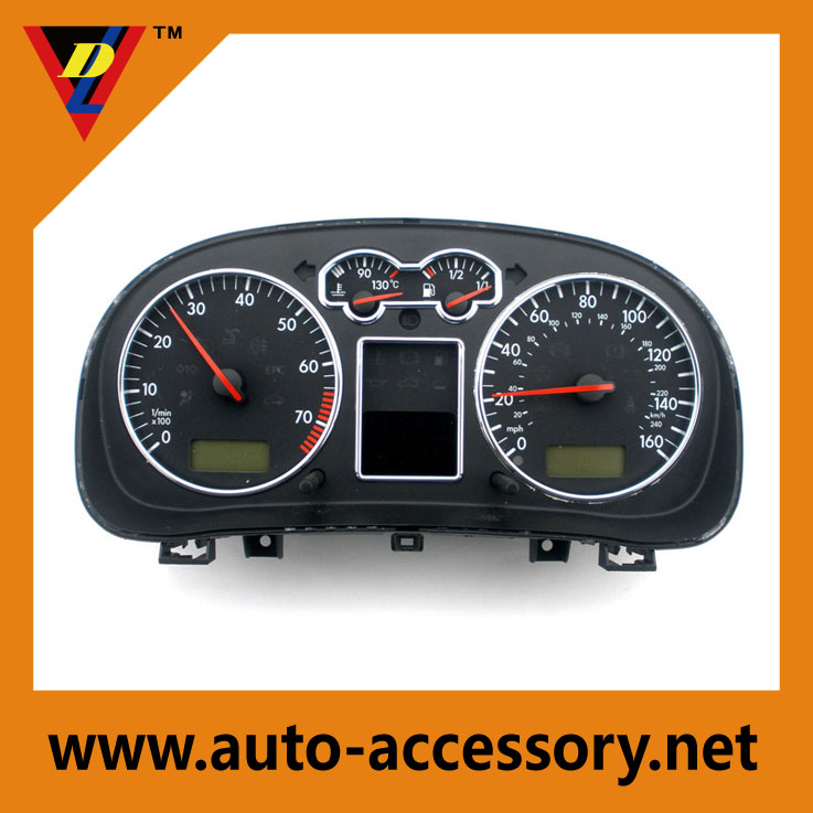 Car Interior Accessories ABS Central dashboard cover for VW golf