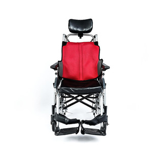 NA-475F Multi-functional reclining wheelchair with adjustable armrests and footrests