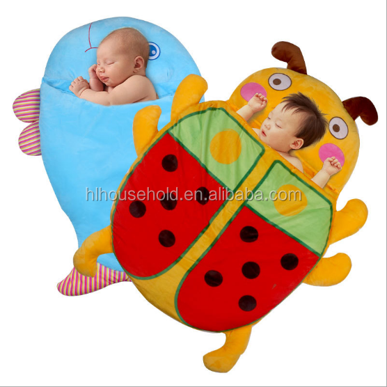 Super Cute Flannel Animal Shape Baby Sleeping Bag for Baby
