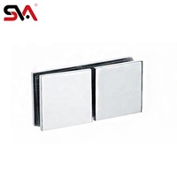 Bathroom 304 Stainless Steel 10 mm Fix Glass Clamp