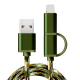 Hign fashion camouflage usb cable ,dats cable for iphone for Android