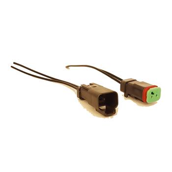 Dt06-2s-e004 2-pin Deutsch Connectors Male Wiring Harness ... on 2 pin lights, 2 pin cable, 2 pin connectors, 2 pin fuse, 2 pin antenna, 2 pin battery harness, 2 pin thermostat, 2 pin fan, 2 pin speed sensor, 2 pin relay, 2 pin resistor, 2 pin transformer, 2 pin switch, 2 pin bulbs, 2 pin solenoid,