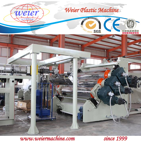 PC PMMA sheet board production line extrusion machine