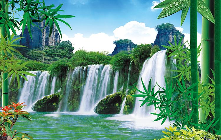 Paisajes para paredes fotomurales naturaleza para - Papel pintado paisajes ...
