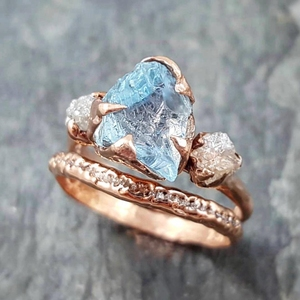 Charm customer design Accept 18k gold plated 925 Silver AAA zircon women ring Prong setting Sky blue stone Rings
