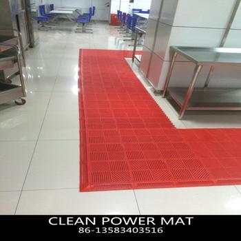Soft Comfortable Block Kitchen Floor Mats And Bath Mat Water Resistance