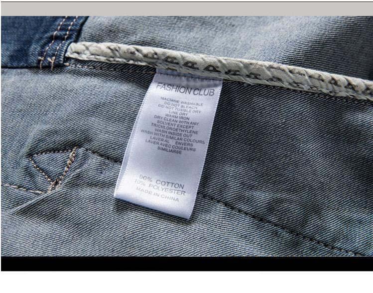 Mantel plus Männer M 3XL Jacken Jeans Jacke Vintage Classics Männer Denim Jacken Größe beiläufige dünne New Retro Kleidung rdoexBWQC