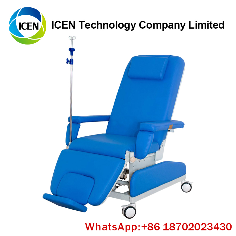 IN-O007-1 hot sale Medical patient blood donation chair phlebotomy chairs